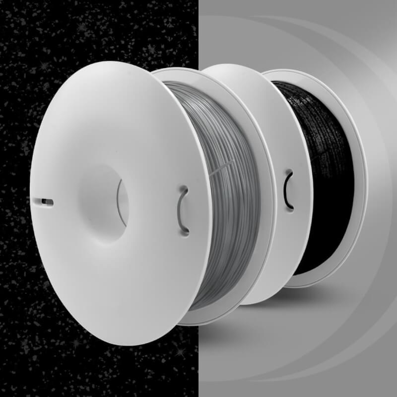 2 nieuwe spectaculaire kleuren Fiberlogy Easy PETG, Silver en Onyx