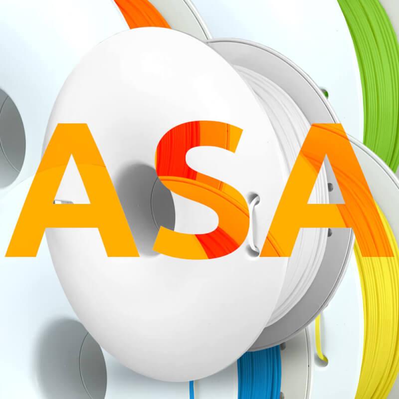 Fiberlogy ASA filament, het alternatief voor ABS in steeds meer kleuren beschikbaar.