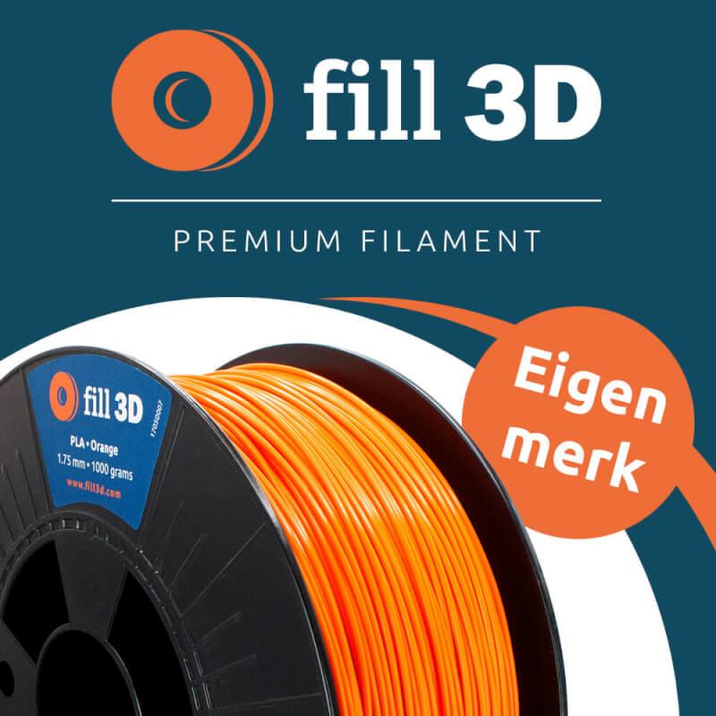 Een vliegende start van 2021 met Fill 3D filament! Ons eigen merk, nu te bestellen!