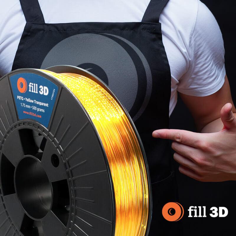 Mag ik een pondje Fill 3D filament? Natuurlijk, PLA of PETG?