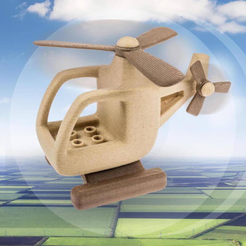Hout printen, jij ziet ze vliegen zeker? Het kan met Fiberlogy FiberWood hout filament!