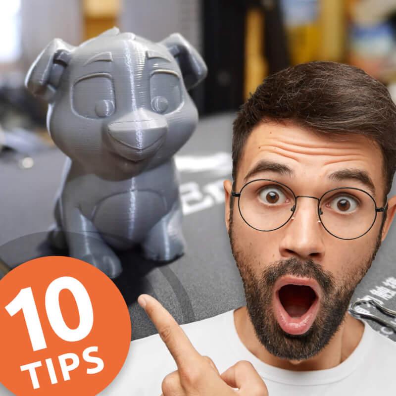 10 handige tips voor beginnen met 3D printen