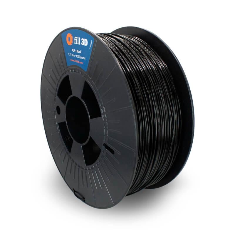 Fill 3D PLA Black (zwart) 1 kg