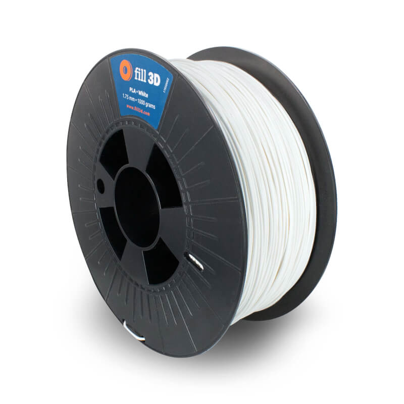 Fill 3D PLA White (wit) 1 kg