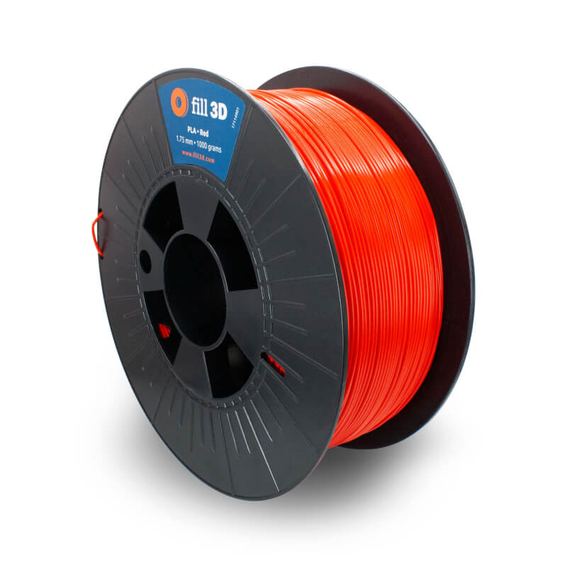 Fill 3D PLA Red (Rood)