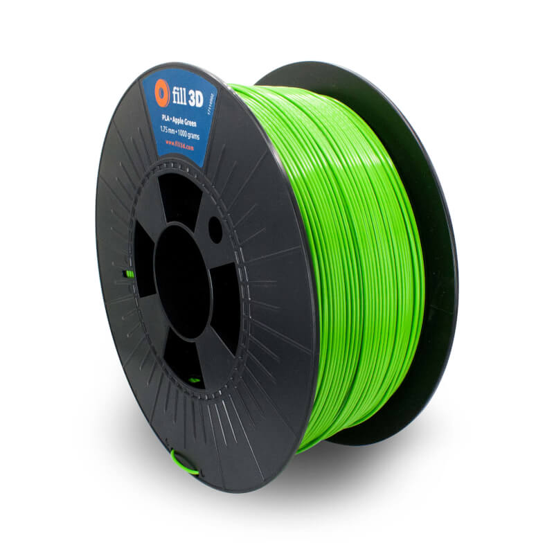Fill 3D PLA Apple Green (helder groen) 1 kg