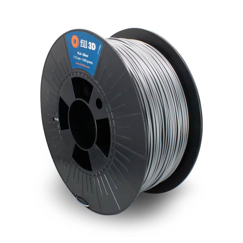 Fill 3D PLA Silver (zilver) 1 kg