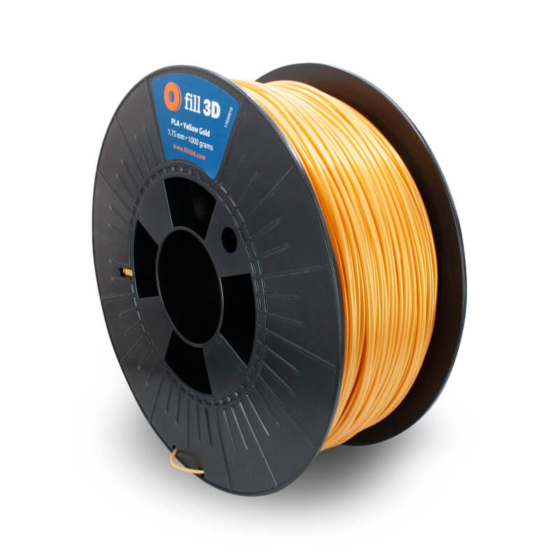 Fill 3D PLA Yellow Gold (goud) 1 kg