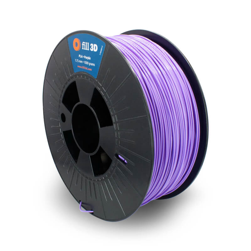 Fill 3D PLA Purple (paars)