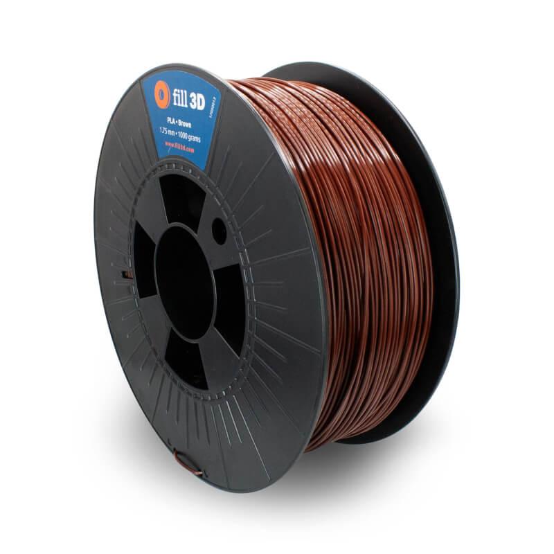 Fill 3D PLA Brown (bruin) 1 kg