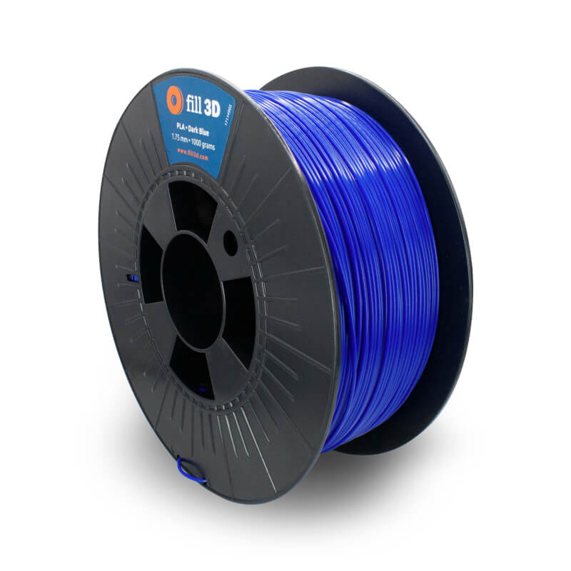 Fill 3D PLA Dark Blue (donkerblauw)