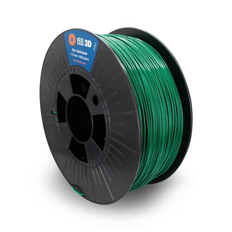 Fill 3D PLA Dark Green (donkergroen)