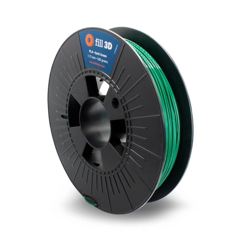 Fill 3D PLA Dark Green (donker groen) 0,5 kg