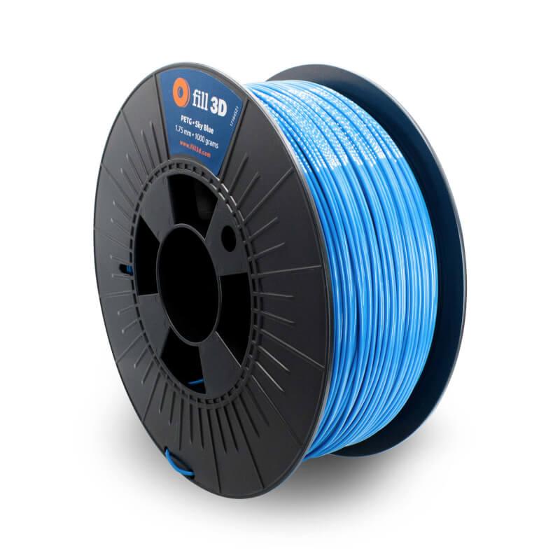 Fill 3D PETG Sky Blue (helder blauw) 1 kg