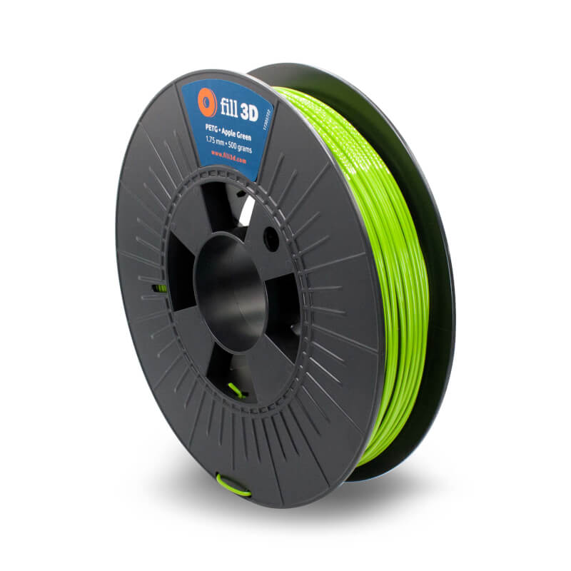 Fill 3D PETG Apple Green (helder groen) 0,5 kg