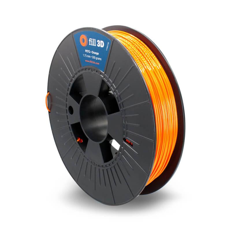 Fill 3D PETG Orange (oranje) 0,5 kg