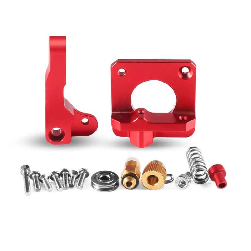 Aluminium MK8 Bowden Extruder Upgrade kit rood